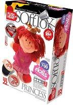 """Направи сама парцалена кукла - Принцеса - Творчески комплект от серията """"Soft Toy  Dolls"""" - творчески комплект"""