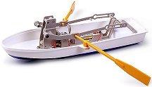 Лодка с гребла - Сглобяем модел с мотор -