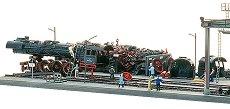 Депо за локомотивен скрап - макет