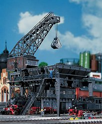 Кран за товарене на въглища - макет