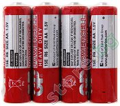 Батерия AA - Въглерод-Цинкова (15E) - 4 броя -