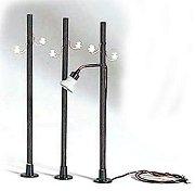 Телеграфни стълбове - Аксесоари за модели и макети  - комплект 3 бр. -