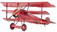 Военен самолет - Fokker Dr.I Triplane - Сглобяем авиомодел -