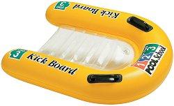 """Детска надуваема дъска - Kick Board - Аксесоар за плуване от серията """"Pool School"""" - играчка"""