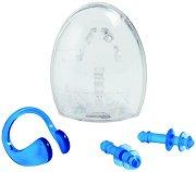 Тапи за уши и щипка за нос - Комплект аксесоари за плуване - продукт