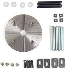 Комплект от планшайба и челюсти за мини струг PD 400 - Инструмент за моделизъм -
