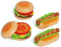 Направи хамбургер и хотдог - играчка