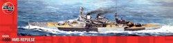 Военен кораб - HMS Repulse - Сглобяем модел - макет