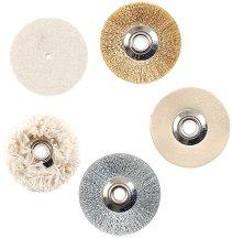 Комплект полиращи четки и дискове за мини шмиргел SP/E - Инструменти за моделизъм - продукт