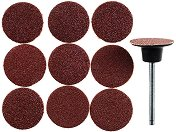 Комплект мини абразивни дискове и шпиндел - продукт
