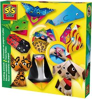 Оригами - Животни - Творчески комплект - количка