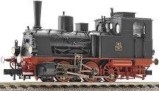 Парен локомотив 302 - ЖП модел -