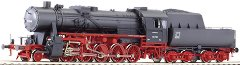 Парен локомотив - BR 52 - ЖП модел - релса