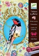 Оцветявай с брокат - Птици - играчка