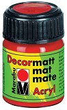 Матова акрилна боя - Decormatt - Бурканче от 15 ml и 50 ml