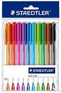 Цветни химикалки - Ball 432 - Комплект от 10 цвята