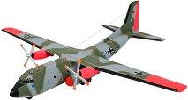 Военен самолет - C-160 Transall - Сглобяем авиомодел - макет
