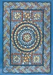 Декупажна хартия - Мозайка звезда 623