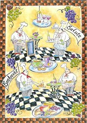 Декупажна хартия - Майстор готвач 665