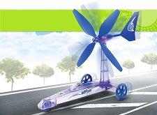 Ветромобил - Сглобяем модел -