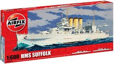 Военен кораб - HMS Suffolk - Сглобяем модел -