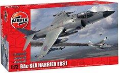 Изтребител - BAe Sea Harrier FRS1 - Сглобяем авиомодел -
