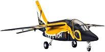 Военен самолет - Dassault Dornier Alpha Jet E - Сглобяем авиомодел - макет