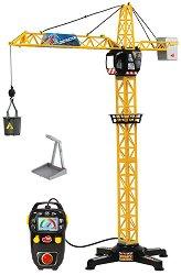 Строителен кран - Детска играчка с дистанционно управление - играчка