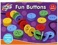"""Забавни копчета - Играчка от серията """"Играй и учи"""" -"""