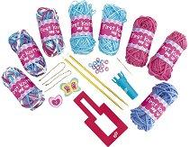 Първи стъпки в плетенето - Творчески комплект - играчка