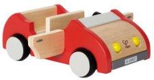 Количка - Family car - Дървена играчка -
