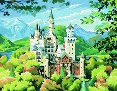Нарисувай сам шедьовър - Замъкът Нойшванщайн - Творчески комплект -