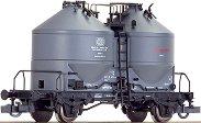 Товарен вагон с два силоза - 910 - ЖП модел -