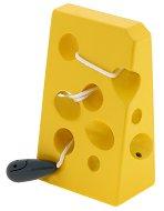 Сиренце и мишка - Дървена играчка за нанизване - количка