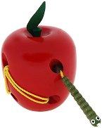 Ябълка и червейче - играчка