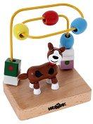 """Куче - Дървена играчка от серията """"Лабиринт"""" - играчка"""