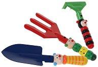 Градински инструменти - Детски комплект от дърво - фигура