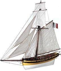 Le Renard - Сглобяем модел на кораб от дърво -