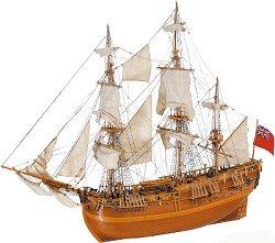H.M.S. Endeavour - Сглобяем модел на кораб от дърво -