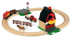 Детски влак с релси - Ферма -