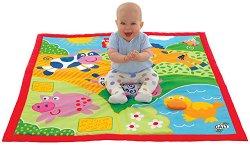 Меко килимче за игра - Животни от фермата -