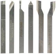 Комплект от мини стругарски ножове 6 x 6 mm - Инструменти за моделизъм - продукт