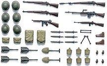 Бойно снаряжение на американската пехота - Комплект военни миниатюри -