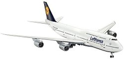 Пътнически самолет - Boeing 747-8 Lufthansa - Сглобяем авиомодел - макет