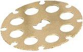 Карбиден диск за рязане на дървесина - ∅ 38 mm - макет